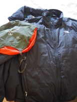 Osprey 12L with waterproof jacket and warm liner