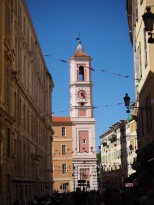 Clock tower in Nice
