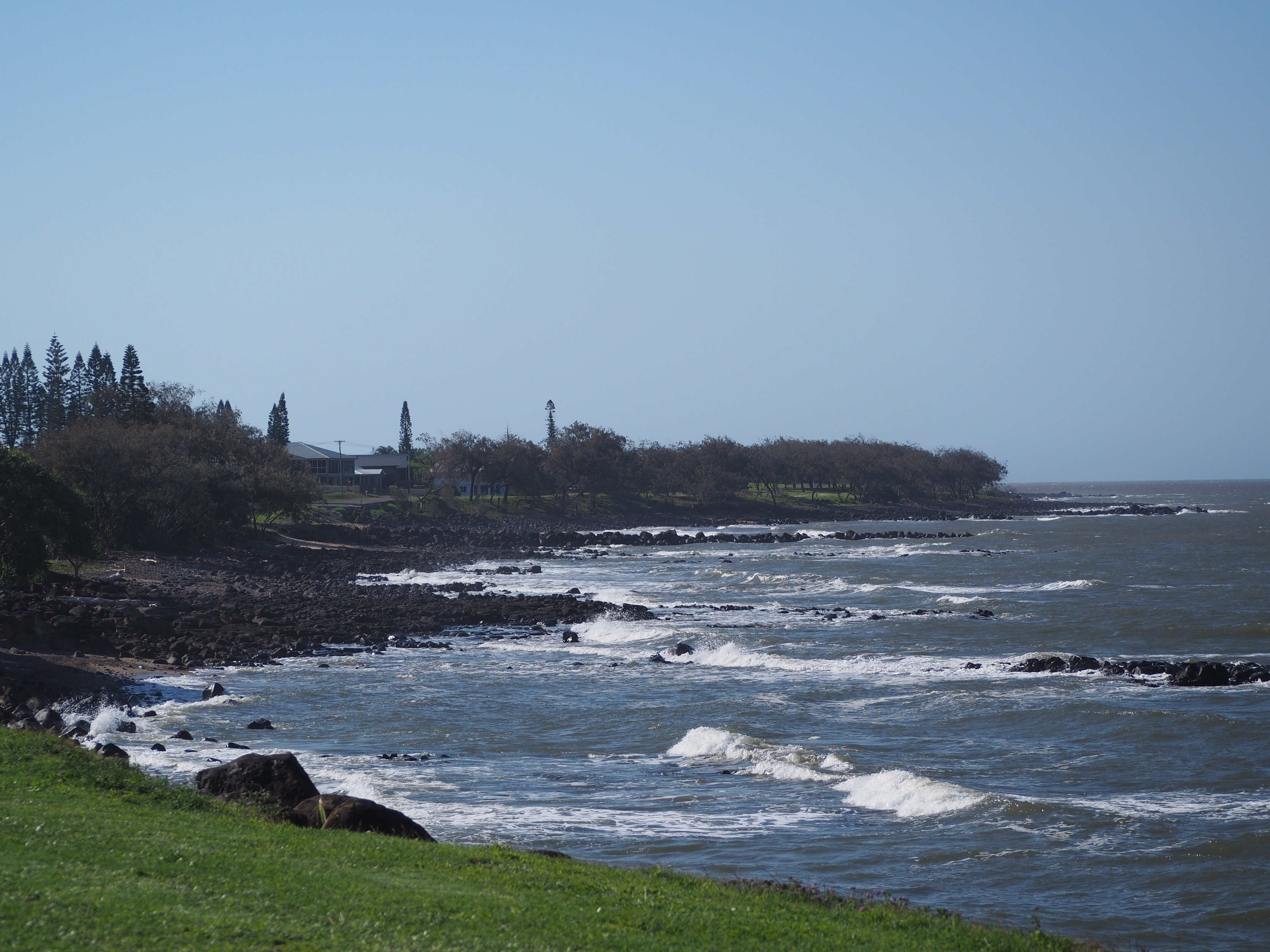 Burnett heads coastline